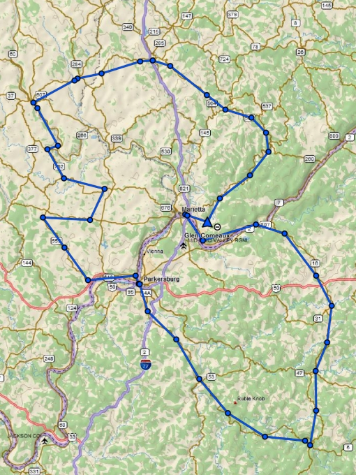 The days route